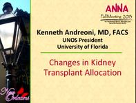 Changes in Transplant Kidney Allocation