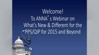Update: What's New and Different for the PPS/QIP for 2015 and Beyond?