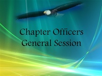 Chapter Officers General Session