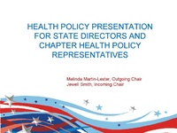 Health Policy - Orientation