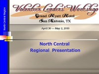 North Central Regional Meeting