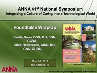 Roundtable Wrap-Up
