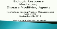 Pharmacology Update for Advanced Practitioners: Biologic Mediators