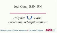 Hospital U-Turns: Preventing Rehospitalizations