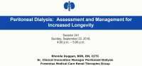 Peritoneal Dialysis: Assessment and Management for Increased Longevity