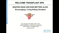 Transplantation - Wanted Dead or (Even Better) Alive