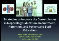Educator - Strategies to Improve Current Issues in Nephrology Education icon