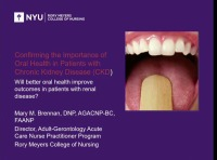 Confirming the Importance of Oral Health in CKD