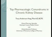 Top Pharmacologic Conundrums in CKD