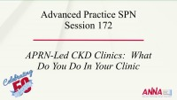 Advanced Practice - APRN-Led CKD Clinics