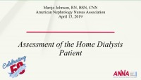 Home Therapy: Physical Assessment