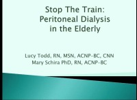 Stop the Train: The Older Adult Using Peritoneal Dialysis icon