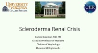 Kidneys Inside and Out: Scleroderma