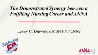 The Synergy Between a Fulfilling Nursing Career and ANNA
