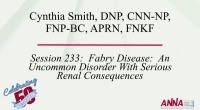 Fabry Disease: An Uncommon Disorder with Serious Renal Consequences