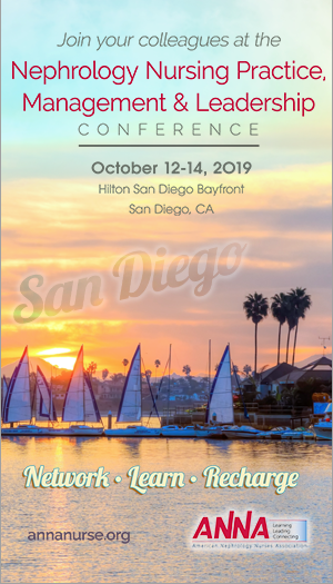 2019 Nephrology Nursing Practice, Management, & Leadership Conference