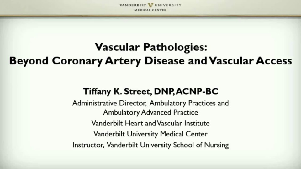 Vascular Pathologies: Beyond Coronary Artery Disease and Vascular Access