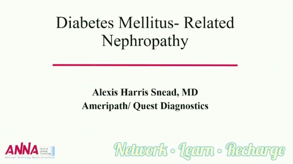 Diabetes Mellitus-Related Nephropathy