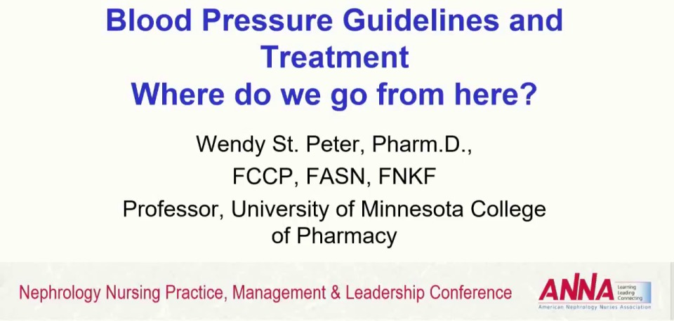 Blood Pressure Guidelines and Treatment
