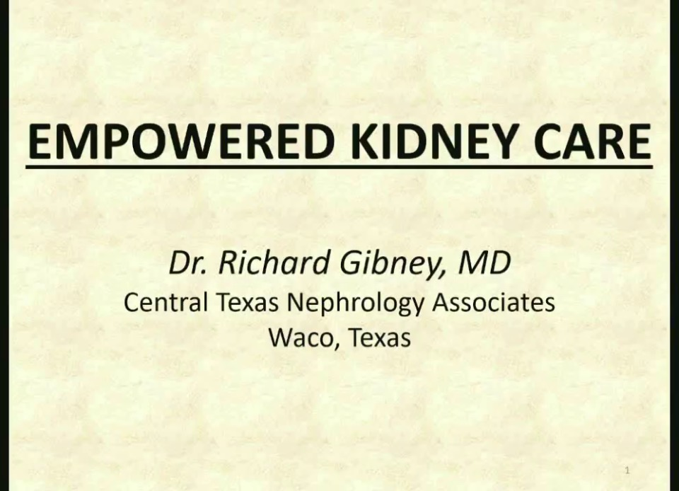 Empowered Kidney Care