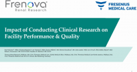 Impact of Conducting Clinical Research on Facility Performance and Quality