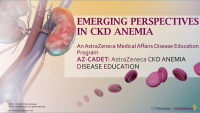 Emerging Perspectives in Anemia of CKD