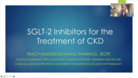 SGLT-2 Inhibitors for the Treatment of Chronic Kidney Disease
