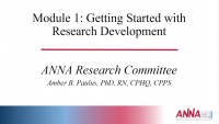 Getting Started with Research Development