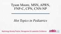 Hot Topics in Pediatrics