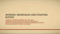 The Impact of Nursing Shortages on Staffing Ratios