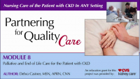 Palliative and End of Life Care for the Patient with Chronic Kidney Disease