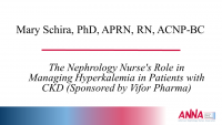 The Nephrology Nurse's Role in Managing Hyperkalemia in Patients with CKD (Sponsored by Vifor Pharma)