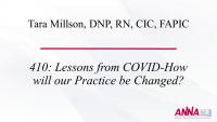 Lessons from COVID: How Will Our Practice Be Changed?