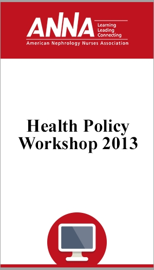 Health Policy Workshop 2013