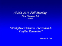 Issues in Management: Workplace Violence