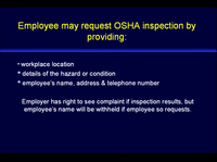 Issues in Management: OSHA and Infection Control