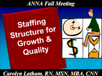Issues in Management: Staffing Structure for Growth and Quality