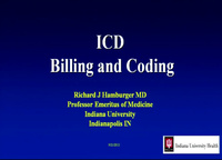 ICD Billing and Coding
