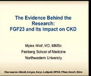 The Evidence Behind the Research: FGF-23 and Its Impact on CKD