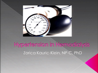 Hypertension in Hemodialysis