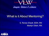 Mentoring and Developing Nephrology Nurse Leaders