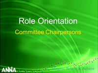 Role Orientation: Committees - Part I