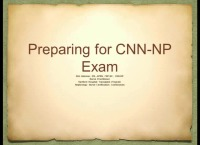 Primer on APN Nephrology Practice or CNN-NP Certification Preparation: NNCC Review