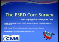 Issues in Management: The ESRD Core Survey: Collaborating to Improve Care
