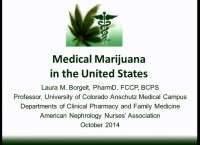 Trends in Pharmacology: Medicare Part D/Medical Marijuana