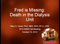 Fred Is Missing: Dealing with Death in the Dialysis Unit
