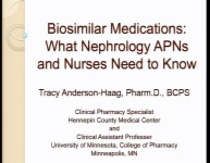 Biosimilar Medications: What Nephrology APNs and Nurses Need to Know