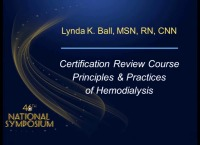 Certification Review Course - Hemodialysis Part I