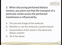 Certification Review Course - Peritoneal Dialysis Part II