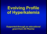 Evolving Profile of Hyperkalemia